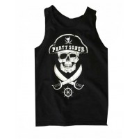 Party Sober Pirate Tank