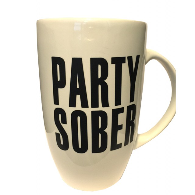 Party Sober Coffee Mug