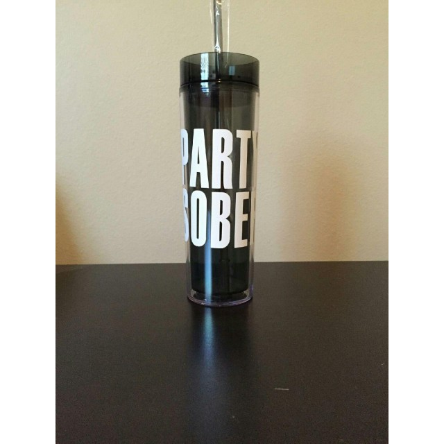 Party Sober Water Bottle